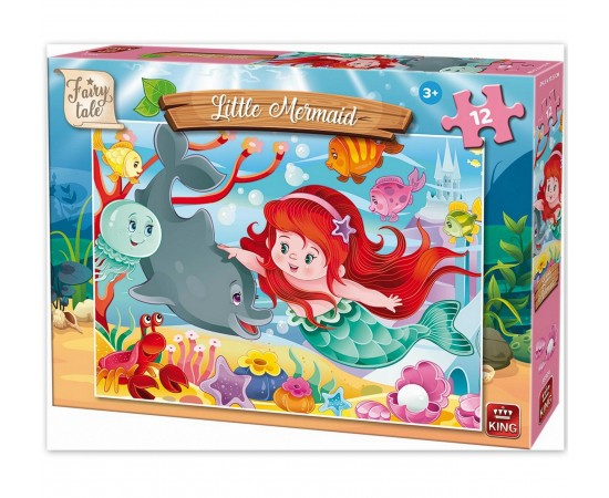 Παζλ 12 τμχ. Fairy Tale Little Mermaid (55924)